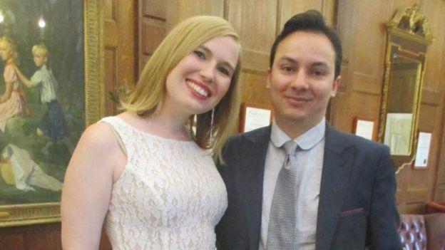 Samantha Mawdsley and boyfriend Aneil Fatania