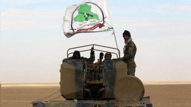 نیروهای بسیج مردمی عراق به همراه نیروهای نظامی این کشور در جنگ علیه داعش حضور داشتند