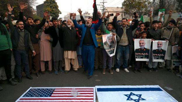 демонстрация в Лахоре