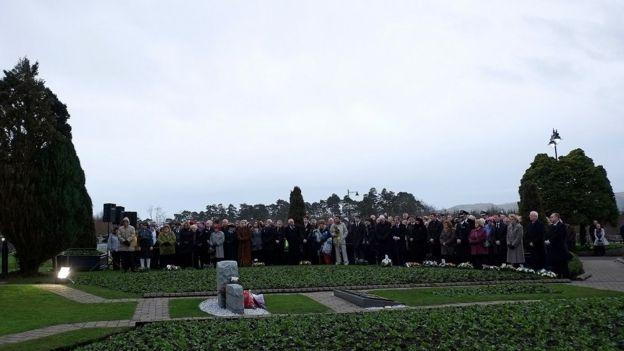 Lockerbie homenaje víctimas 2013.
