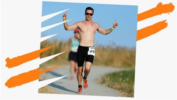 Jeff correndo