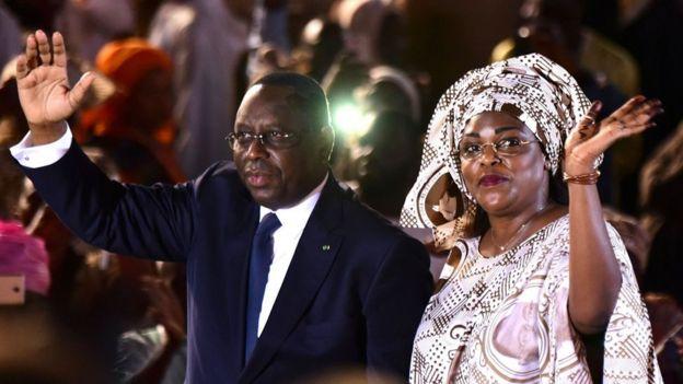 Ibrahima y su segunda esposa