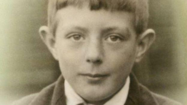 Stanley Underhill na infância