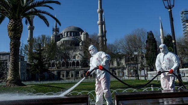 В Турции больше больных коронавирусом, чем в Китае