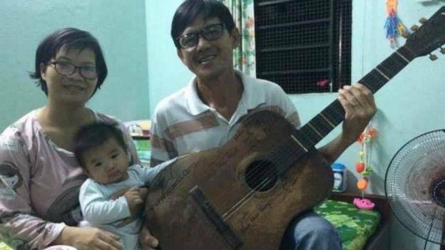 Anh Huỳnh Anh Tú và chị Phạm Thanh Nghiên