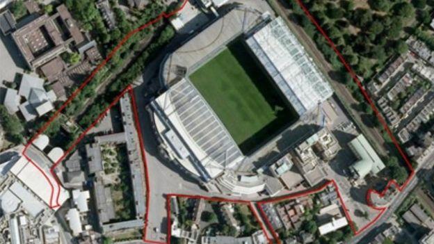 Plan del nuevo estadio de Chelsea (Foto: ChelseaFC/Herzog & de Meuron)