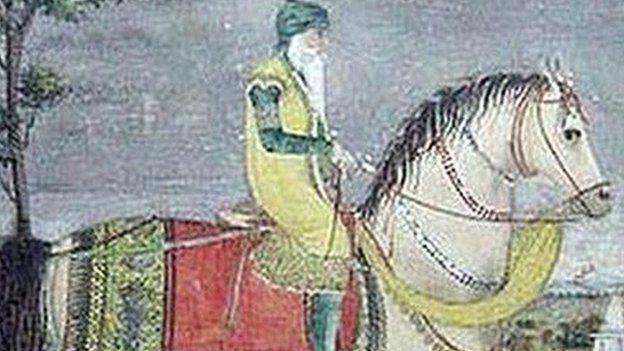 رنجیت سنگھ اور اسپ لیلی