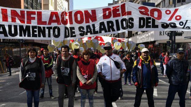 La tensi�n que se vive en Argentina ante el regreso de la crisis econ�mica