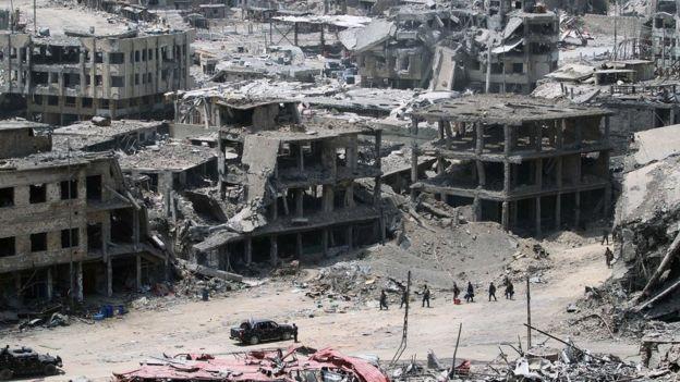 Muonekano wa mji wa Mosul baada ya vita