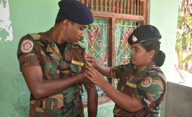 Crossing Divides: The Sri Lankan civil war enemies who fell in love