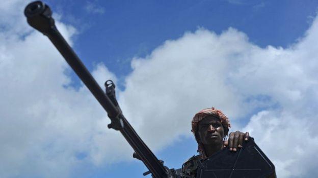 Soldados somalís