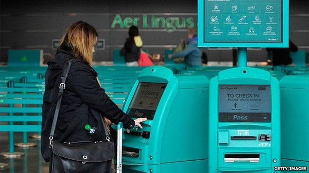 Aer Lingus check in areas