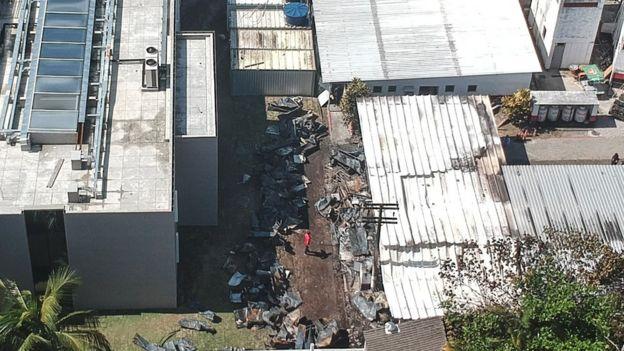 Centro de treinamento do Flamengo sofreu com incêndio - dez pessoas morreram
