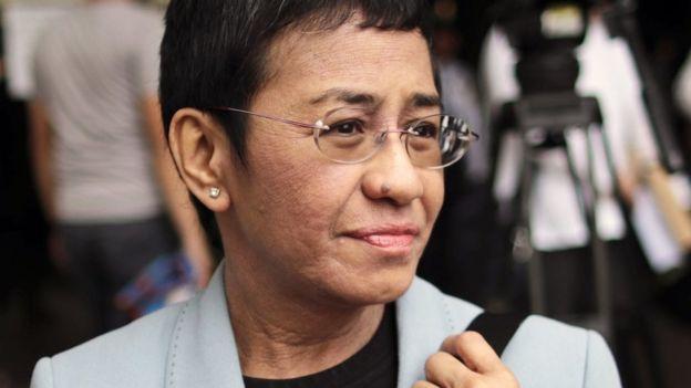 Maria Ressa in December 2018
