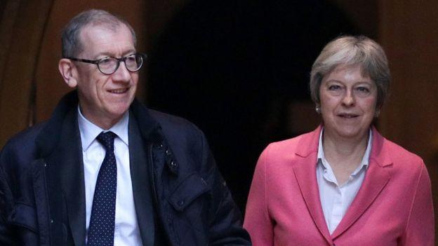 Philip May and Theresa May