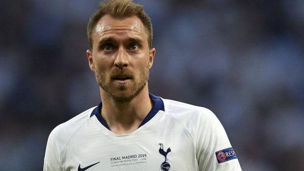 Tottenham huenda ikabadilishana kiungo wa kati wa Denmark Christian Eriksen,