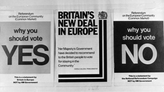 1975 leaflets