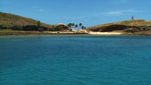 Vista de Abrolhos (BA)