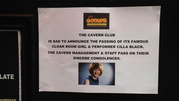Cavern Club announcement