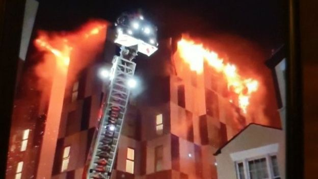 Bolton fire