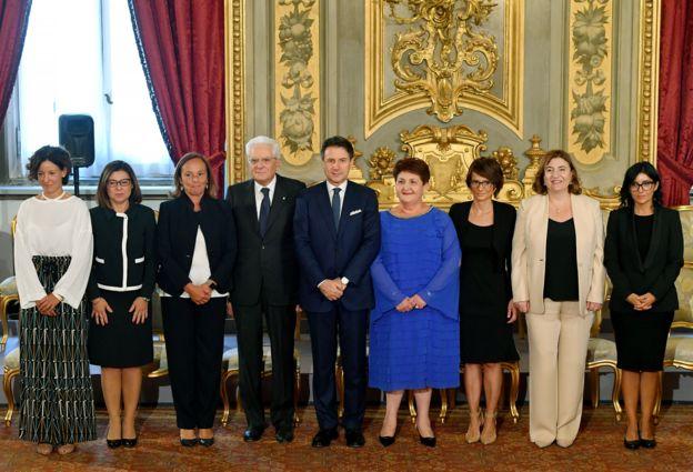 Ministras de Italia