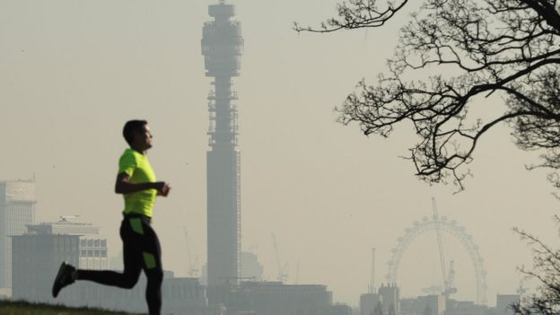 Pollution hotspots revealed: Check your area - BBC News