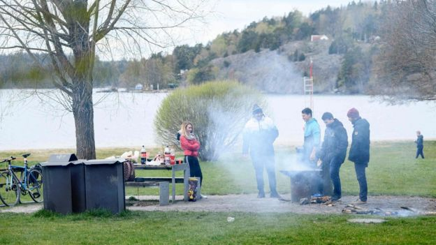 Barbecue in Sweden