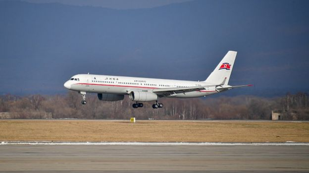 Air Koryo airline plane