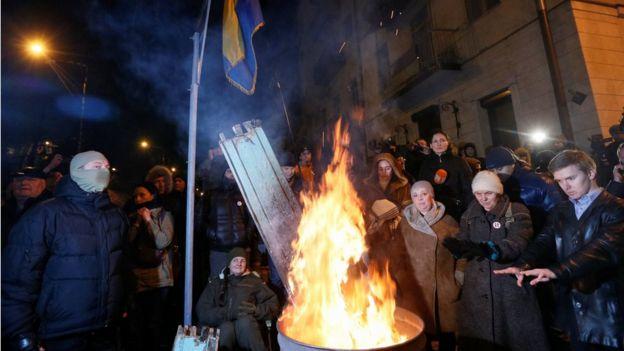 Сторонники Саакашвили