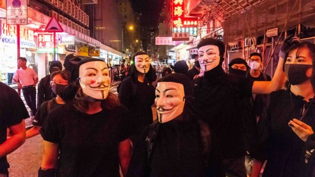Protestas antigubernamentales en Hong Kong
