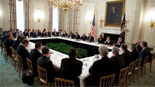 Reunião na Casa Branca