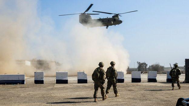 Tropas estadounidense en Irak