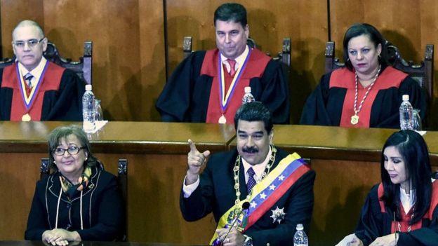 آمریکا تعدادی از مقامات دولتی ونزوئلا را تحریم کرد
