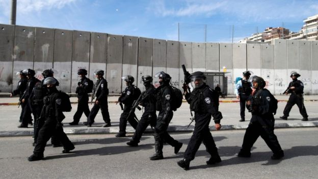 Israel said it was preparing for a potential outbreak of violence.