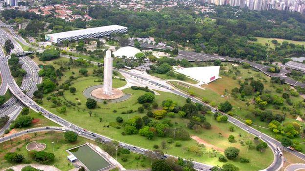 Obelisco do Ibirapuera, símbolo da cidade de São Paulo e da revolução de 1932