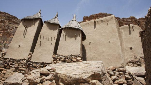 Dogon dwellings