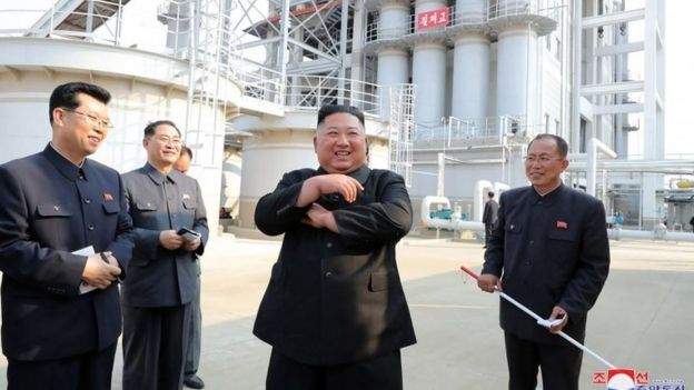 Kim Jong-un appears in public, North Korean state media report