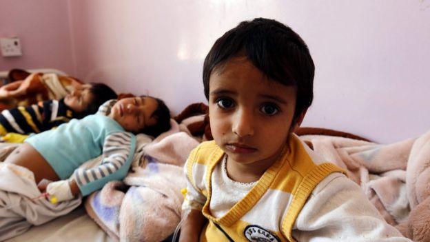 وباء الكوليرا في اليمن