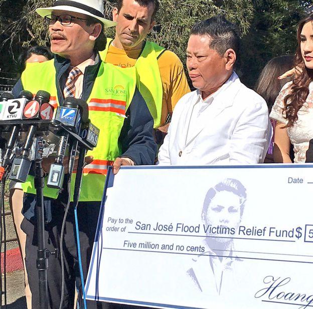 Cộng đồng San Jose gây qũy cứu trợ nạn nhân lũ lụt