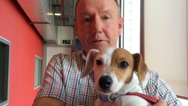 Molly the \'rare\' hermaphrodite dog - BBC News