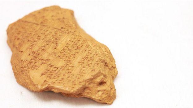 لوح يعود عمره إلأى 3400 سنة يعتقد أنه يحمل أول نموذج لكتابة موسيقية