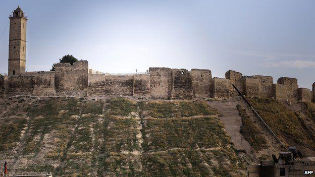 5,000 year-old citadel in Aleppo