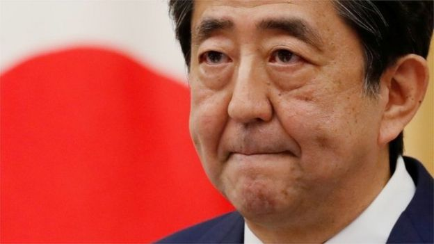 Shinzo Abe - Mei 2020