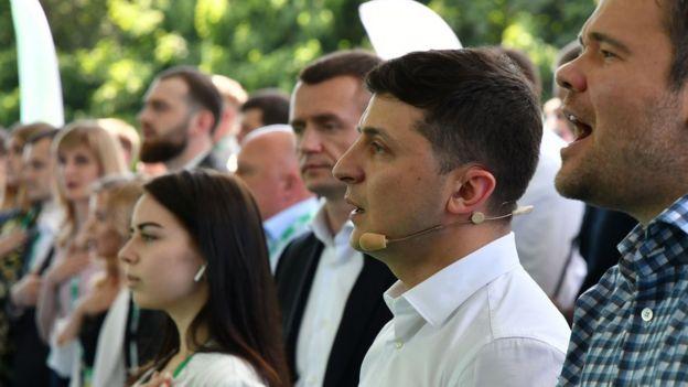 """Съезд партии """"Слуга народа"""", Киев, 09.06.2019"""