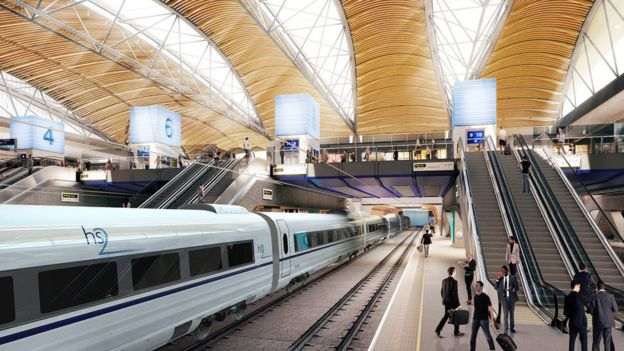 HS2 Euston station artist's impression