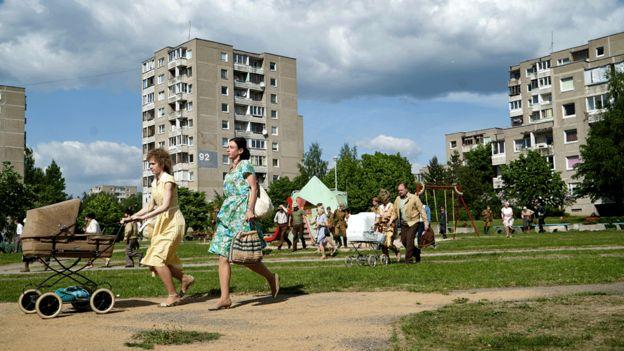 Çernobil nükleer santralinde çalışan binlerce aileyi barındıran Pripyat kenti