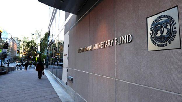 Edificio del Fondo Monetario Internacional.