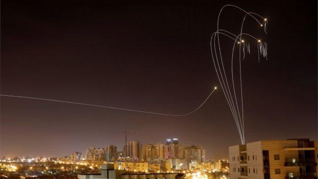 سیستم دفاع ضدموشکی اسرائیل معروف به گنبد آهنین
