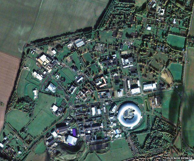 Deimos-2 image of Harwell in Oxon, UK