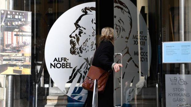Alfred Nobel Museum in Stockholm, Sweden
